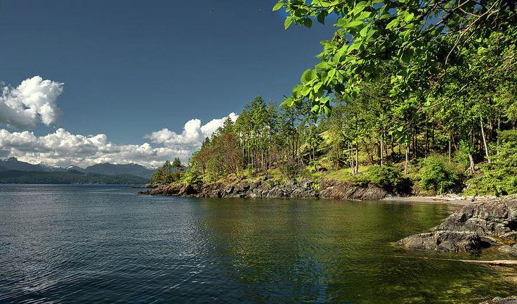 Alex Lyubar Fine Art Photography  North America Photograph - Shore Of The Northern Sea  by Alex Lyubar  #AlexLyubarFineArtPhotography #VancouverCanada #BowenIsland #ArtForHome #FineArtPrint