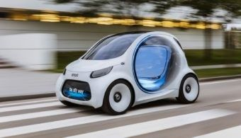 Smart is giving us a preview of what the future smart fortwo could look like and how it could forever change the world of car-sharing.