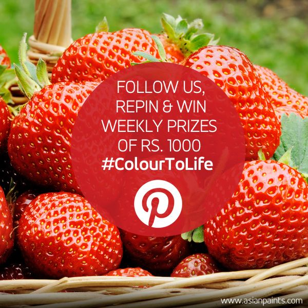 Participate in our #ColourToLife contest and you could be this week's lucky winner.