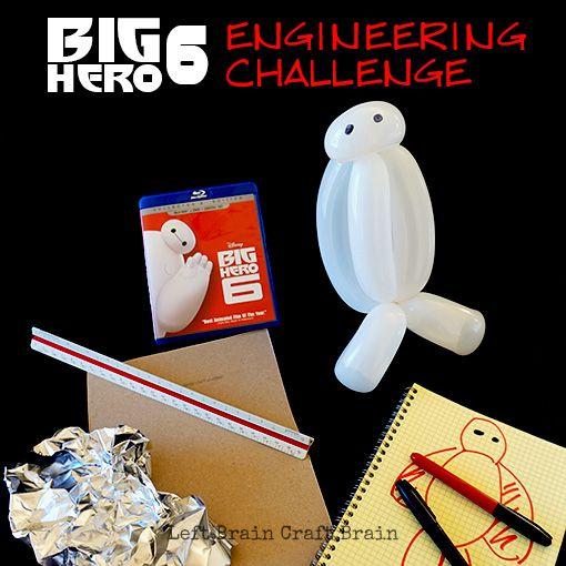 Big Hero 6 Engineering Challenge Left Brain Craft Brain FB