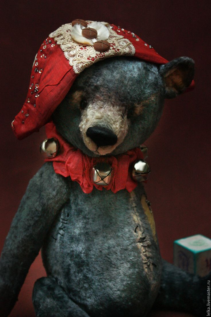 Купить Новогодний мишка. - новогодний подарок, мишка тедди, мишка в подарок, новогодние игрушки