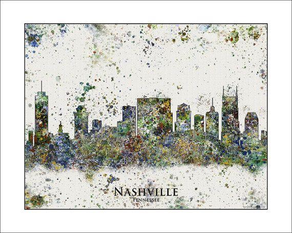 NASHVILLE Skyline, Nashville, TENNESSEE, Map of Tennessee, Map of Nashville, City Skylines, Tennessee TITANS, Vanderbilt, Vandy