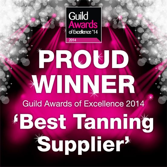 Being awarded Best Tanning Supplier by the Beauty Guild was a moment of great joy for us - real recognition by us for our brand by our fellow professionals!