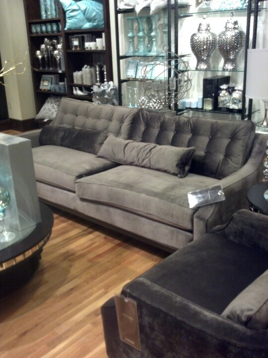 Z Gallerie Pierre Sofa Love Transitional Home Decor