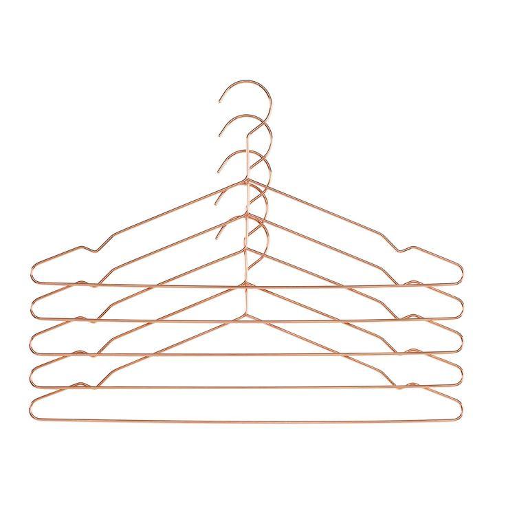 Hang galge 5-pack, koppar i gruppen Inredningsdetaljer / Småförvaring / Krokar & Hängare hos RUM21.se (115464)