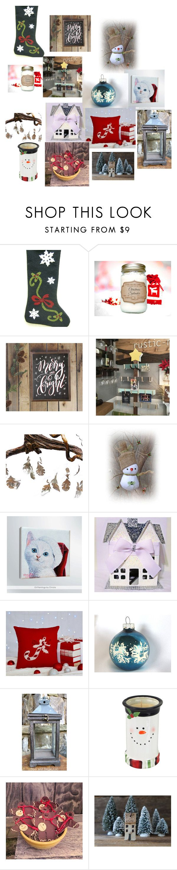 """Christmas ideas"" by onirojewelry on Polyvore featuring interior, interiors, interior design, home, home decor and interior decorating"