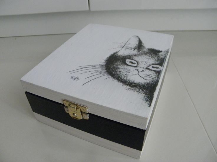 skrzynka dla miłośników kotów