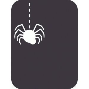 Silhouette Design Store - View Design #49452: spider journaling card