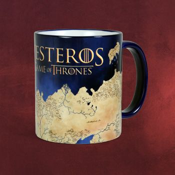 Game of Thrones - Westeros Tasse - Sammeln & Deko