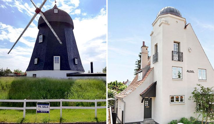 Look at the countrys most original houses.
