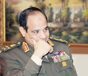 Congratulations to Egypt ....Joy overwhelming victory of Mr. Abdel Fattah al-Sisi in the Arabic Republic Egypt presidential election.