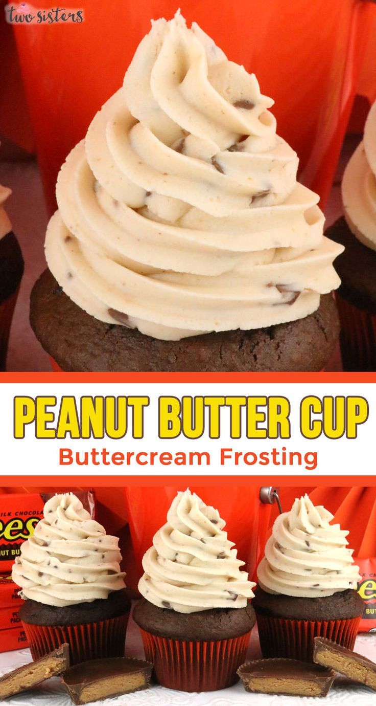 Peanut Butter Cup Buttercream Frosting