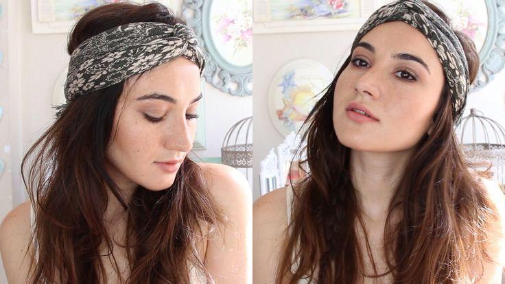 Kolay & Pratik Bohem Görünüm | Makyaj + Saç