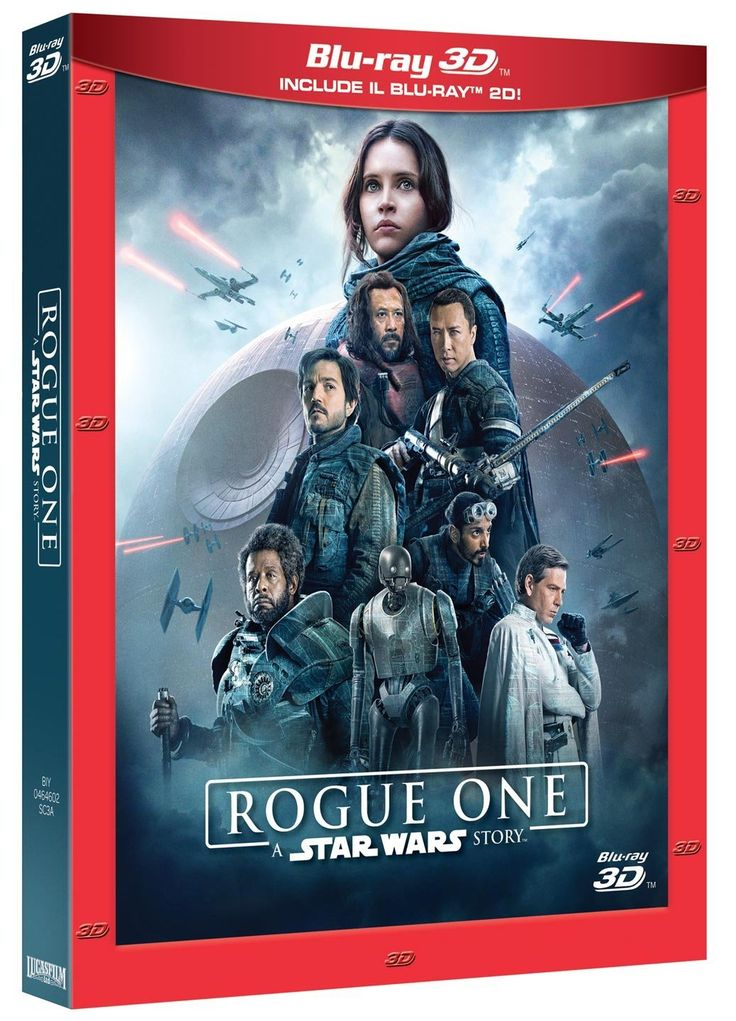 """ Rogue One: A Star Wars Story "" DVD, blu-ray, 3D"