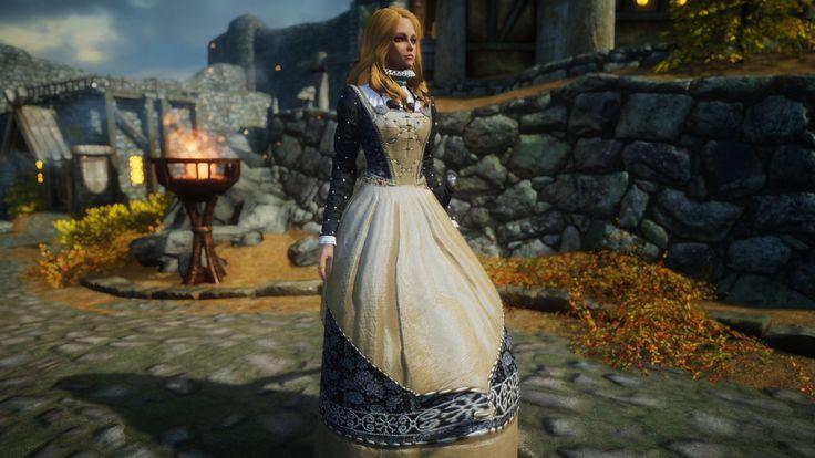 Witcher 3 Toussain Armor at Skyrim Nexus - mods and community