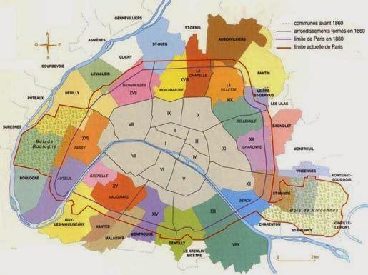 Urban Networks: Cuando París se convirtió en París: Las transformaciones del Barón Haussmann (2. La estructura urbana)