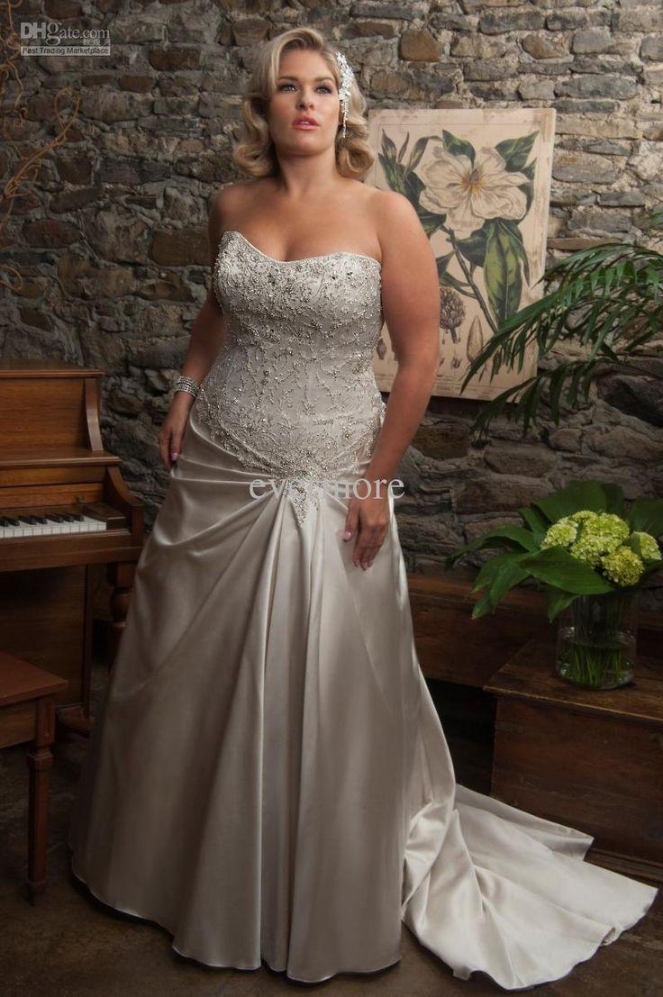 Funky Wholesale Plus Size Wedding Dresses Adornment - Wedding Dress ...