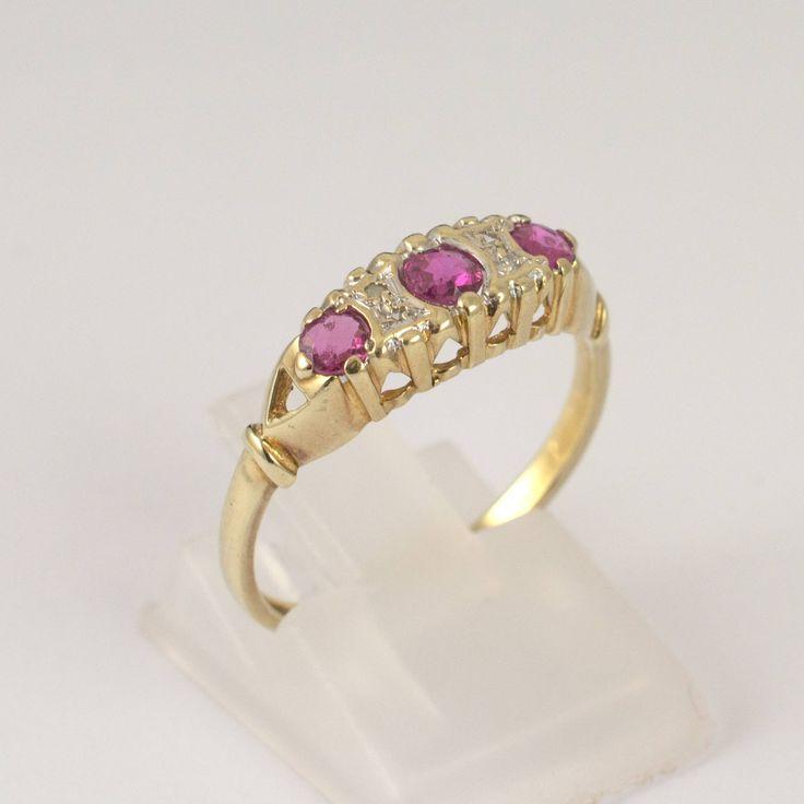 StyleRocks Diamond 9kt Yellow Gold Domed Ring - UK U - US 10 1/4 - EU 62 3/4 g1dZ6KPoN3