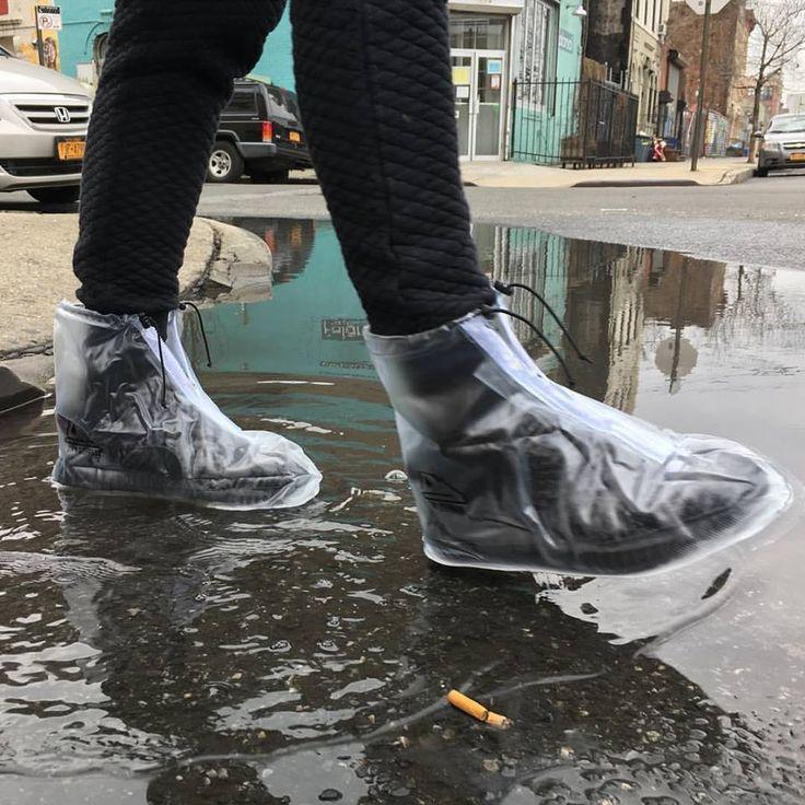 Capa de chuva para os pés promete manter seu sapato limpo | As coisas mais criativas do mundo
