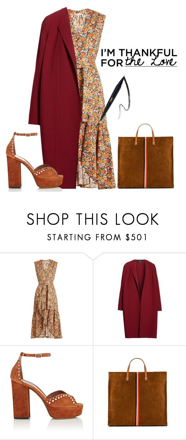 """""""The love ❤️"""" by mortimer03 ❤ liked on Polyvore featuring Rebecca Taylor, Lafayette 148 New York, Tabitha Simmons and Clare V."""
