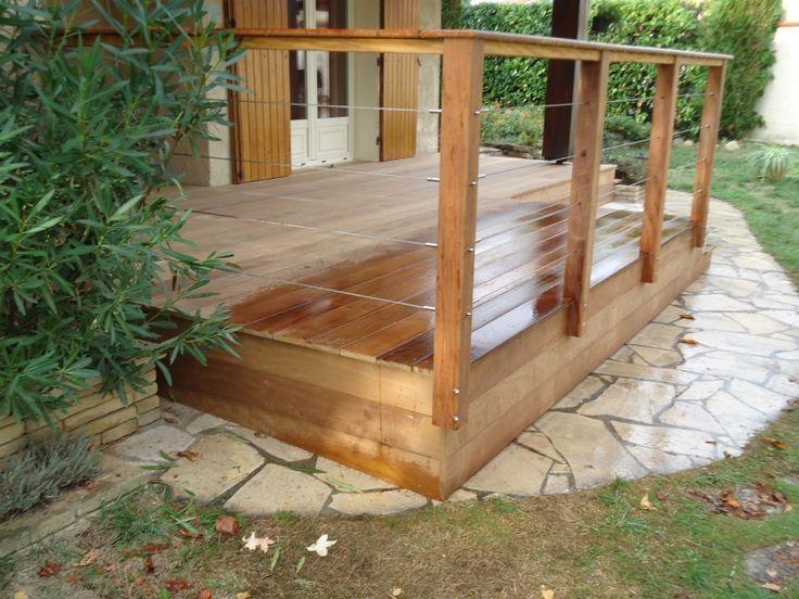 249 best Inspiration deco images on Pinterest Attic spaces - toiture terrasse bois accessible