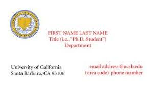 Image Result For Business Cards Students Candidate PHD Psychology