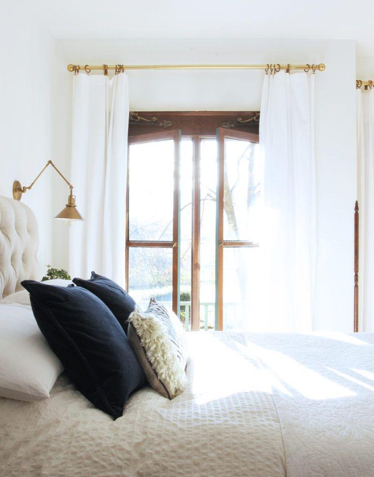 The Imbrie sconce via cathyposhusta  Bedroom Design