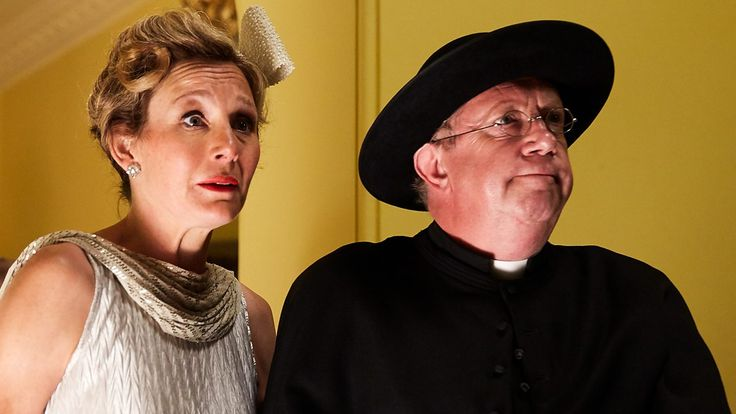 Father Brown spies trouble when Lady Felicia returns to Kembleford.