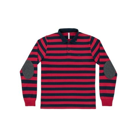 POLO EL. STRIPES L/S #SUN68 #SUN68FW16 #FW16 #uomo #man #fashion #cool #mood #winter #fall #newcollection #moda #outfit #shopping #beauty #boy #tshirt #stripes