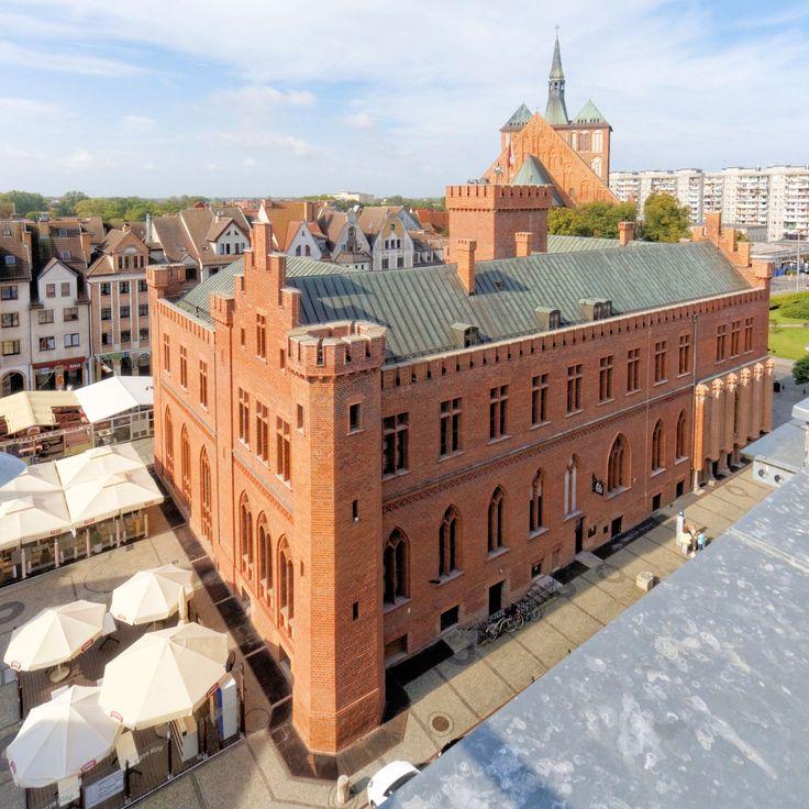 Kołobrzeski Ratusz Miejski. Photo by GB #kolobrzeg #architektura #ratusz #Schinkel
