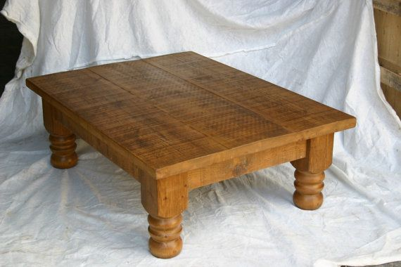 New Plank Coffee Table solid wood table by ForeverHomeInteriors
