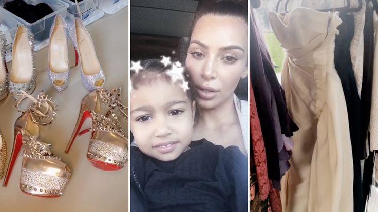 Kim Kardashian's Ten Million Dollar Closet Tour 2017   Full Video