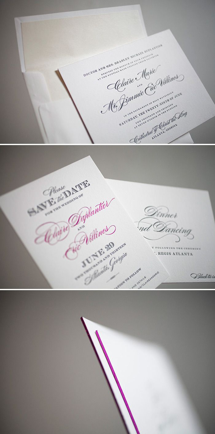 Best 25 Unique letterpress wedding save the date ideas ideas on