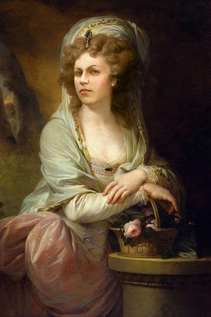 Damenportrait - Mutter mit ca. 37