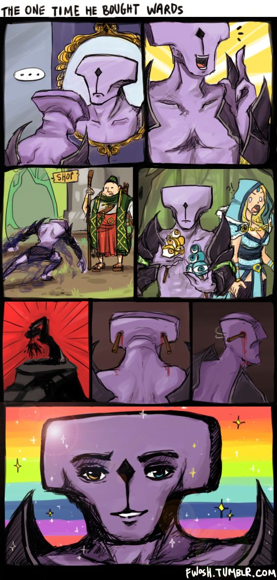 How Faceless Void got a face... #Dota
