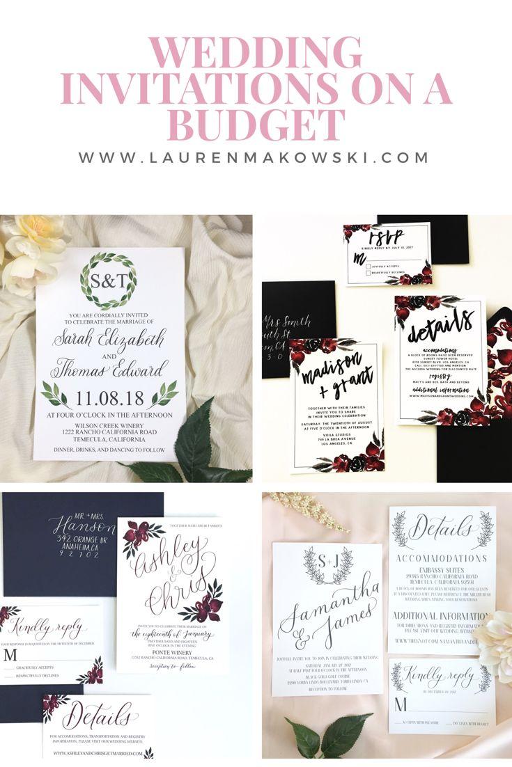 reply to wedding invitation m%0A Invitations in a budget  wedding invitations  simple wedding invitations   cheap wedding invitations