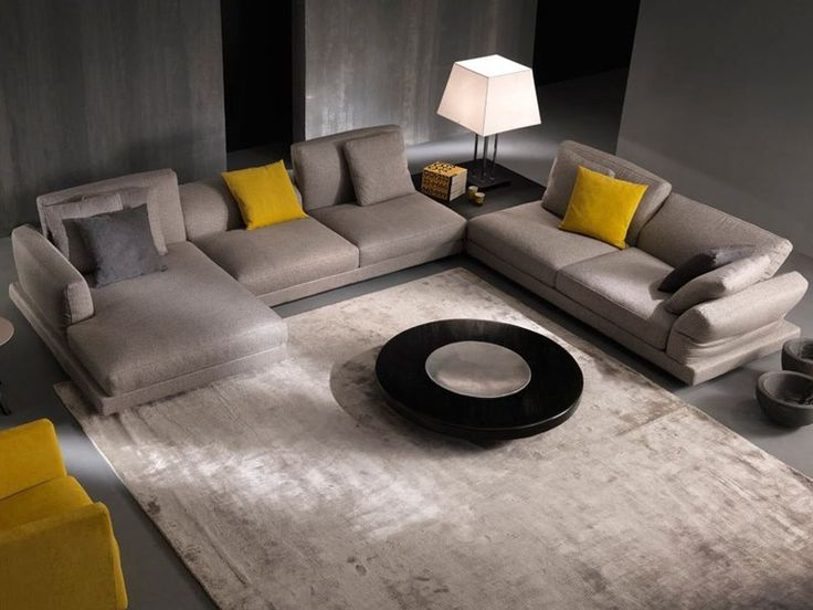 Recliner sofa with chaise longue FOSTER Gurian Collection by GURIAN | design Zeno Nugari