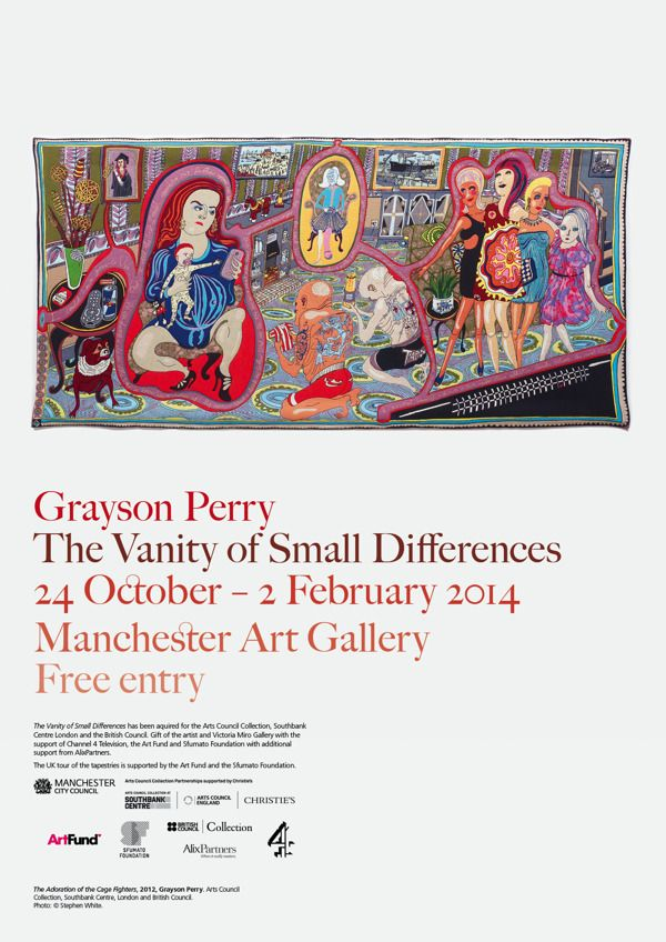 Grayson Perry by Ian Smith, via Behance