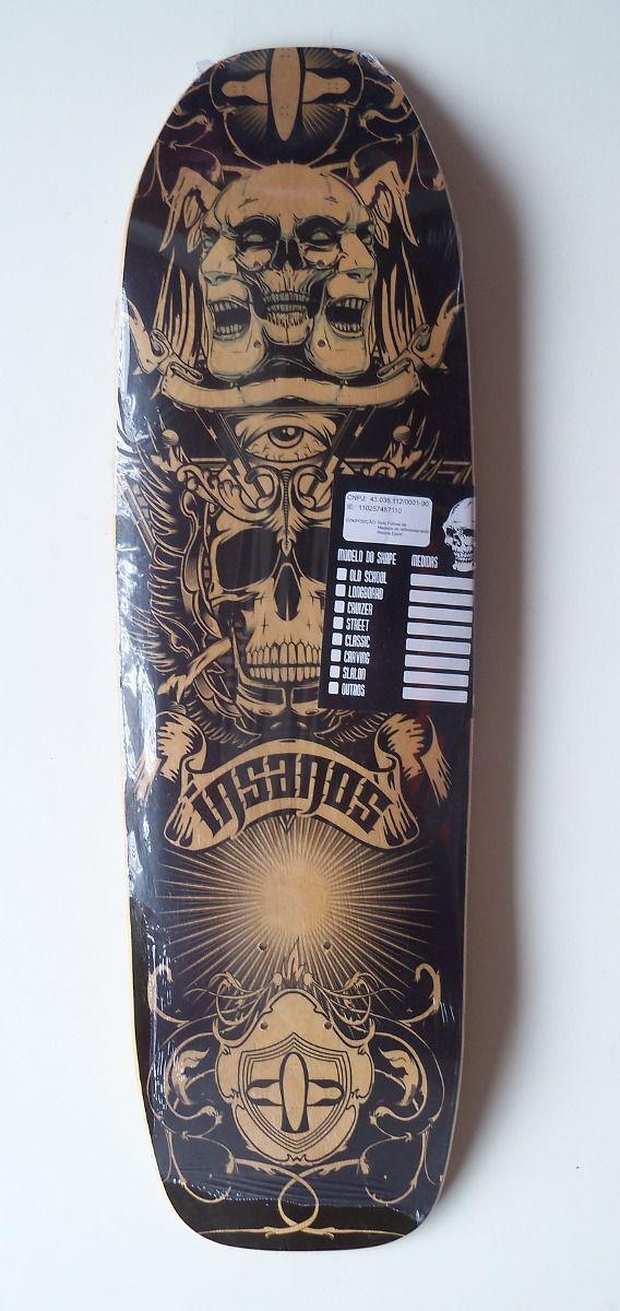 Shape Skate Oldschool Insanos 9,10 X 32,10 - R$ 100,00 no MercadoLivre