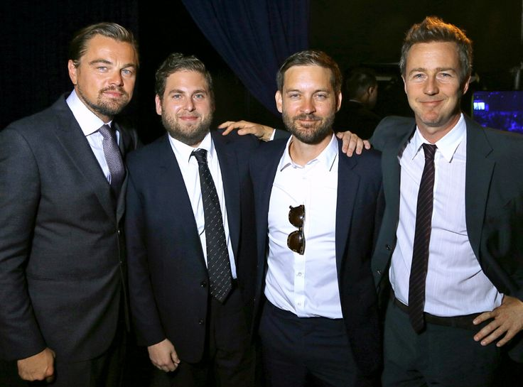 The A-list actor and a group of his equally talented and famous friends take a candid during The Leonardo DiCaprio Foundation 3rd Annual Saint-Tropez Gala in Saint-Tropez, France.