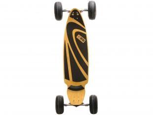"Skate Carve Mtx Slick c/ Shape Marfim 8 Folhas - Rodas Aro 4"" 6001 Dupla Blindagem - Dropboards"