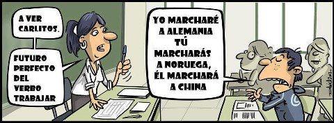 Chiste verbo trabajar en espa a empleo humor pinterest - Trabajar en facebook espana ...