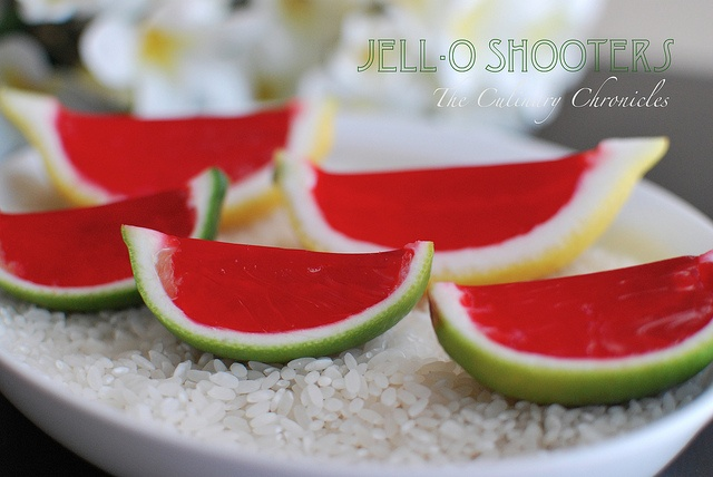 Show Stoppin' Jell-OShooters.@Lisa Berube and @Kathleen Arnold - we MUST made these this summer