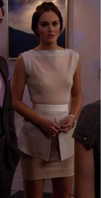 Modern and Chic | Victoria Beckham (Spring '10) dress | Community Post: Blair Waldorf's Most Iconic Looks