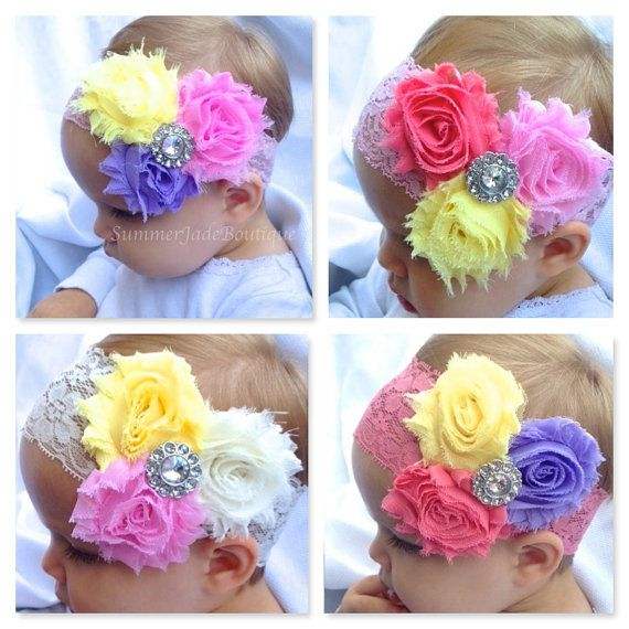 Easter headbands / easter basket stuffers/ easter dress accessories