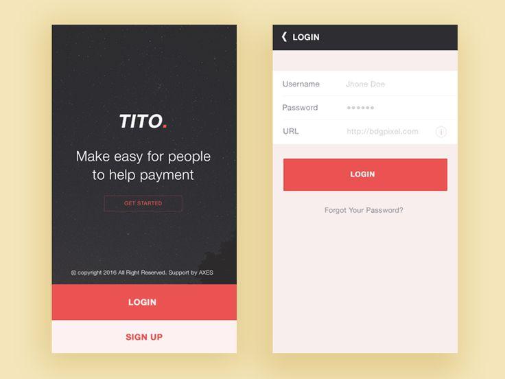 Tito App Intro