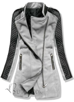 Mantel grau 12019 - Damenbekleidung