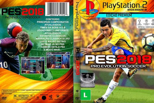 Pro Evolution Soccer 2018 TOP GAMES (PS2) Atualizado Agosto 2017 - Download