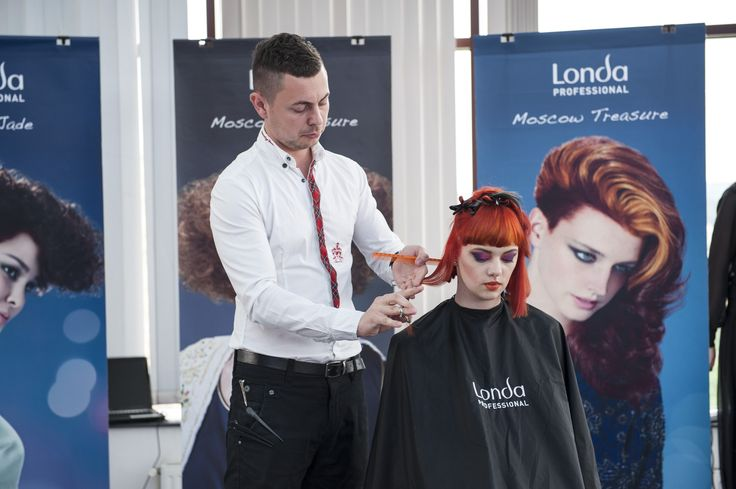 That's stunning: NEW Londa Professional hairstyles & looks have been presented in Romania! #londahappymoments #event #show #hairstylist #hair