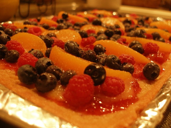 Fresh Fruit Pizza With Lemon Curd Recipes — Dishmaps